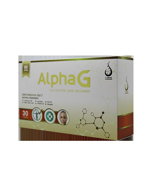 อัลฟาจี (AlphaG) บำรุงเซลล์ ด้านอนุมูลอิสระ
