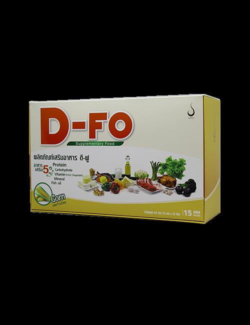 ดี-ฟู (D-Fo) อาหารเสริม 5 หมู่ รสข้าวโพด