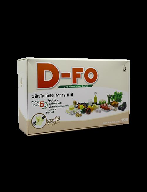 ดี-ฟู (D-Fo) อาหารเสริม 5 หมู่ รสวนิลา