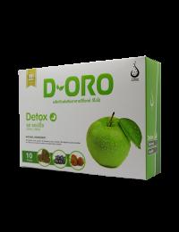 ดี-โอโร ดีท๊อก (D-Oro Detox) เพื่อขับล้างสารพิษ