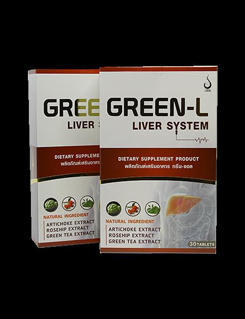 กรีนแอล (Green-L) อาหารเสริมบำรุงตับ