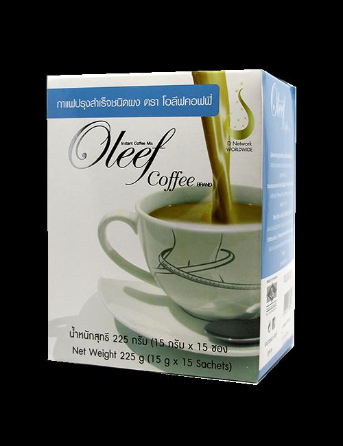 โอลีฟ คอฟฟี (Oleef Coffee) กาแฟเพื่อควบคุมน้ำหนักและสัดส่วน